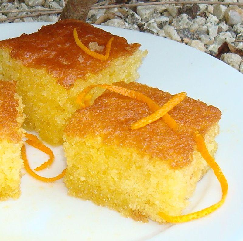 Recette Gâteau à Lorange Pour Buffet Baby Shower