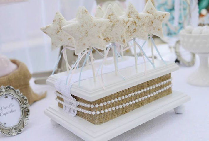 Cake design étoile