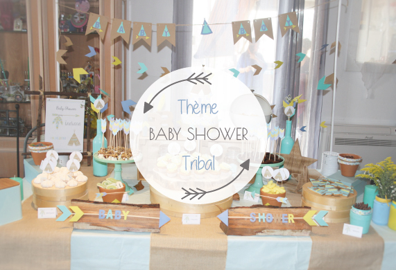 Baby shower theme tribal